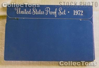 1972 U.S. Mint Proof Set OGP Replacement Box