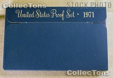 1971 U.S. Mint Proof Set OGP Replacement Box