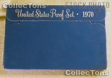 1970 U.S. Mint Proof Set OGP Replacement Box