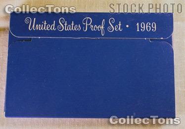 1969 U.S. Mint Proof Set OGP Replacement Box
