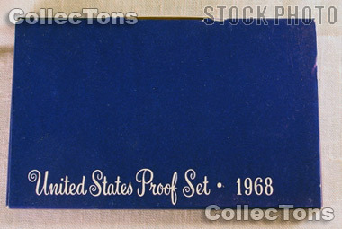 1968 U.S. Mint Proof Set OGP Replacement Box