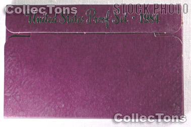1984 U.S. Mint Proof Set OGP Replacement Box