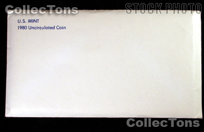 1980 U.S. Mint Uncirculated Set - 13 Coins