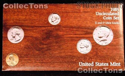 1985 U.S. Mint Uncirculated Set - 10 Coins