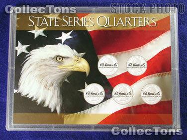Harris 5x7 Permalock Holder 5 STATE QUARTERS