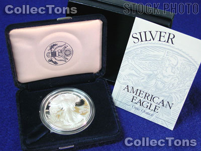 1994-P Proof American Silver Eagle KEY DATE - In Box with COA
