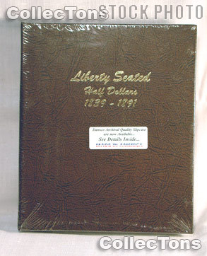 Dansco Liberty Seated Half Dollars Album #6152