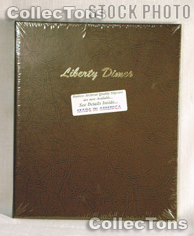 Dansco Barber Liberty Head Dimes Album #7121