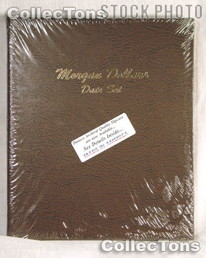 Dansco Morgan Silver Dollars Date Set Album #7171