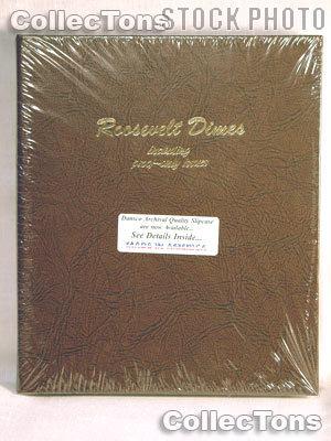 Dansco Roosevelt Dimes with Proof 1946-Date Album #8125