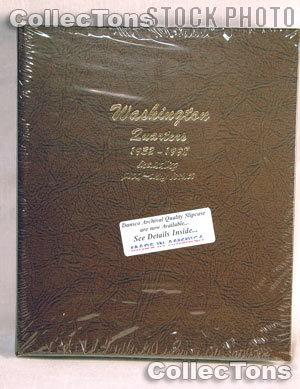 Dansco Washington Quarters with Proof 32-98 Album #8140