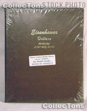 Dansco Eisenhower Ike Dollars with Proof Album #8176