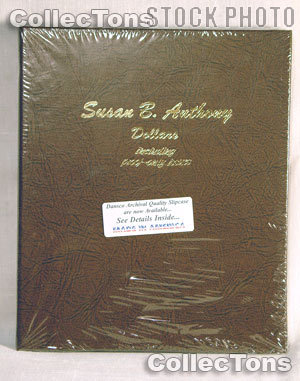 Dansco Susan B. Anthony Dollars with Proof Album #8180