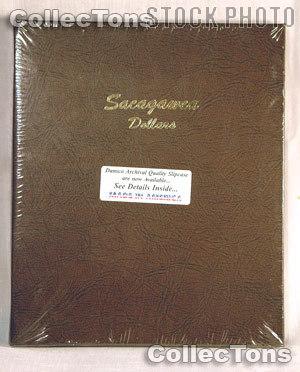 Dansco Sacagawea Golden Dollars Album #7183
