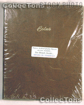Dansco Coin Stock Book for 2x2 Holders Album #7000