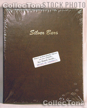 Dansco Silver Bars with 45 Vertical Ports Album #7086