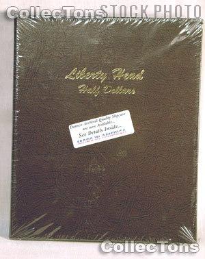 Dansco Barber Liberty Head Half Dollars Album #7150