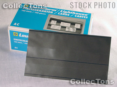 100 Lighthouse Approval Cards 2-Strip Cardboard EKACD/2