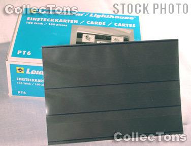 100 Lighthouse Approval Cards 3-Strip Cardboard EKPT6