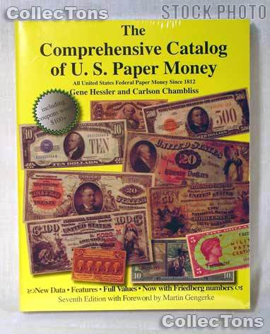 Catalog of U.S. Paper Money Book Softcover - Hessler