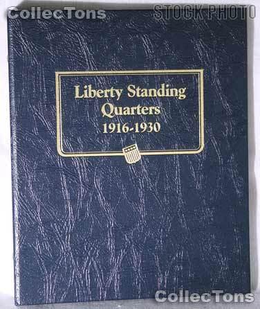Standing Liberty Quarters Whitman Classic Album #9121