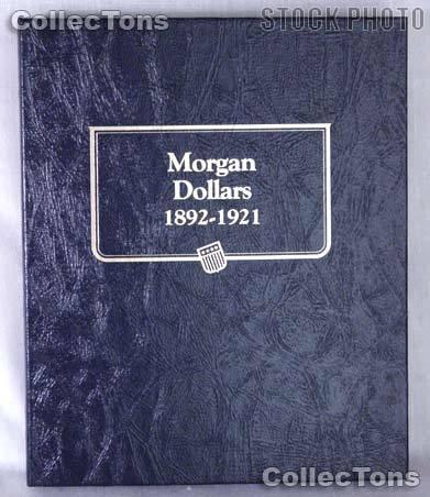 Morgan Dollars 1892-1921 Whitman Classic Album #9129