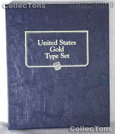 United States Gold Type Set Whitman Classic Album #9170