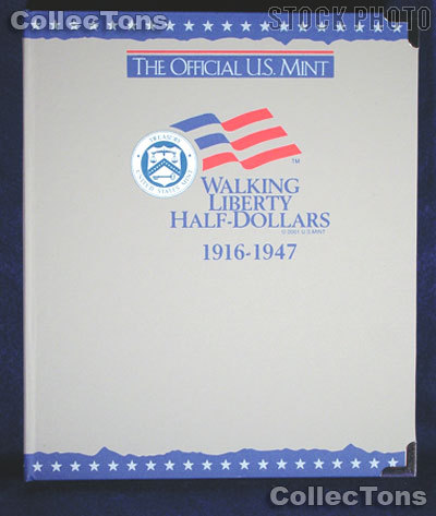 U.S. Mint Walking Liberty Half Dollars Album #1733