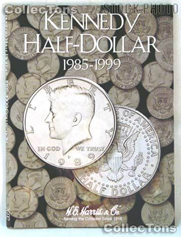 Harris Kennedy Half Dollars 1985-1999 Coin Folder  2697