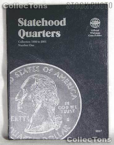 Whitman Statehood Quarters 1999-2001 Folder 9697