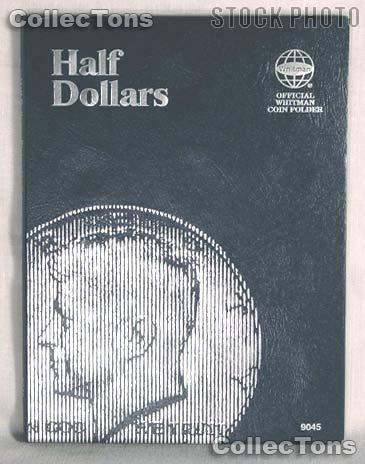 Whitman Blank U.S. Half Dollars Folder 9045