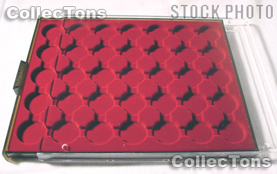 Lighthouse Coin Case for 28mm Capsules MB CAPS 28