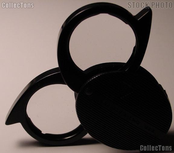 Bausch & Lomb Foldaway 4X 5X 9X Pocket Magnifier