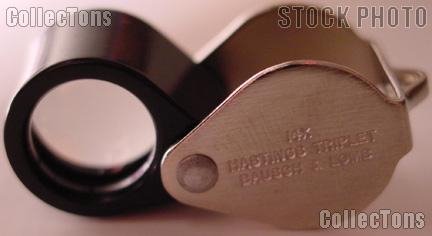Bausch & Lomb Hastings 14X Triplet Loupe Magnifier