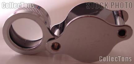 Harris Foldaway 10X Pocket Loupe Magnifier Model 1018