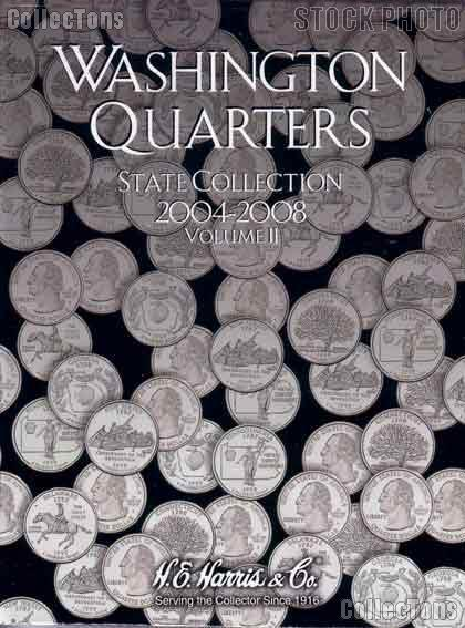 Harris State Quarters 2004-2008 Coin Folder  2581