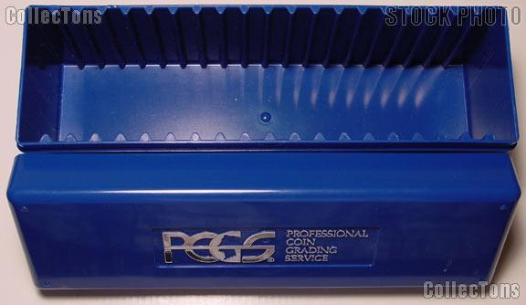 Used PCGS Blue Storage Box for 20 Slab Coins