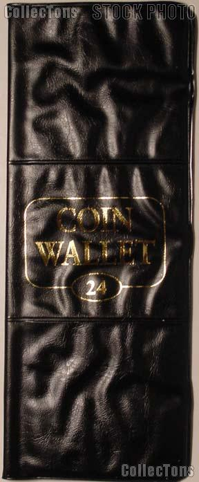 Harris 24 Pocket Coin Wallet Album for 2x2 Holders