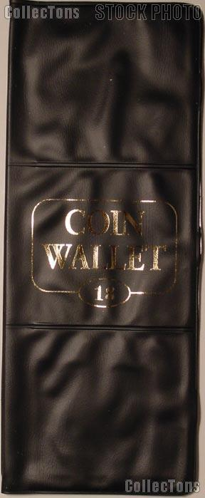Harris 18 Pocket Coin Wallet Album for 2x2 Holders