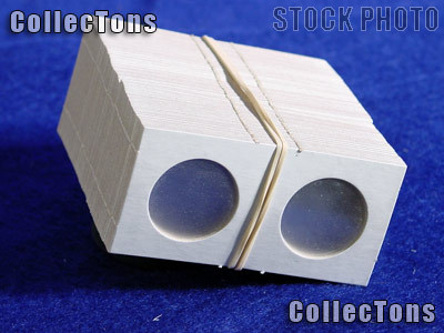 5,000 1.5x1.5 Cardboard Coin Holders QUARTERS