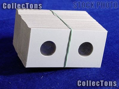 1,000 2x2 Cardboard Coin Holders CENTS