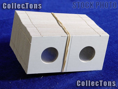 1,000 2x2 Cardboard Coin Holders NICKELS