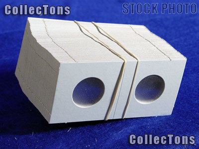 1,000 2x2 Cardboard Coin Holders QUARTERS