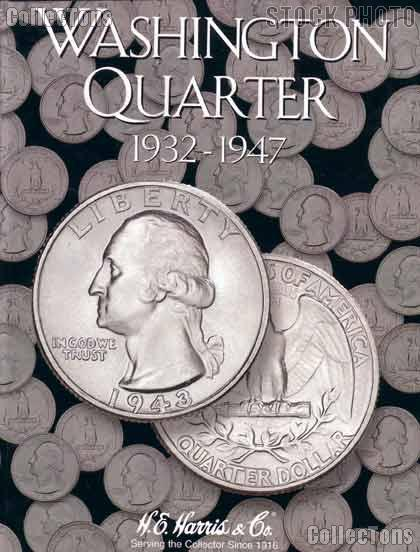 Harris Washington Quarters 1932-1947 Coin Folder  2688