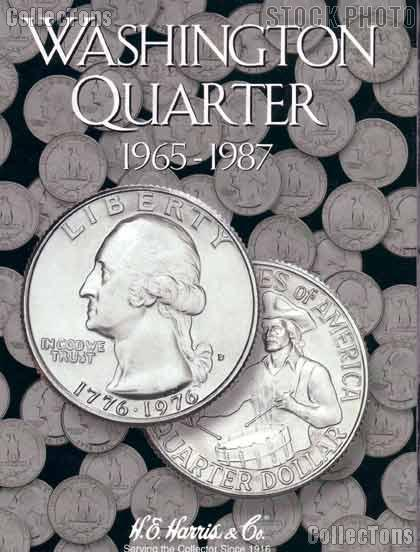 Harris Washington Quarters 1965-1987 Coin Folder  2690