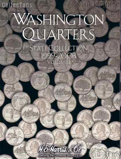 Harris State Quarters 1999-2003 Coin Folder  2580