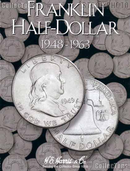 Harris Franklin Half Dollars 1948-1963 Coin Folder 2695
