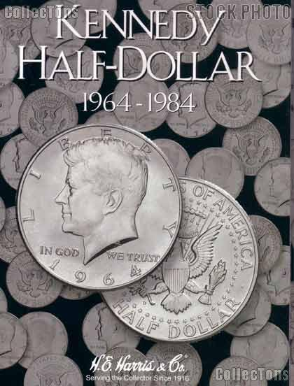 Harris Kennedy Half Dollars 1964-1984 Coin Folder  2696