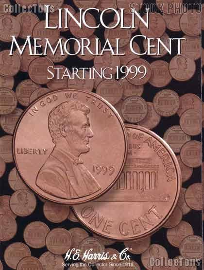 Harris Lincoln Cents 1999-Date Coin Folder  2705