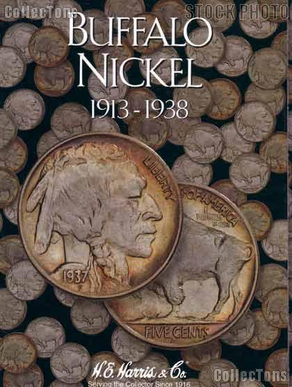 Harris Buffalo Nickels 1913-1938 Coin Folder  2678
